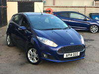 ford fiesta 1.0 ecoboost..........AUTOMATIC........ only 18 k miles .parking sensors. free road tax