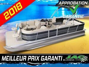 2018 Legend Boats Ponton Bayshore EXT Mercury 25 ELPT Bateau pêc