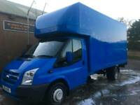 Ford transit Luton van with tail lift full service history one previous owner
