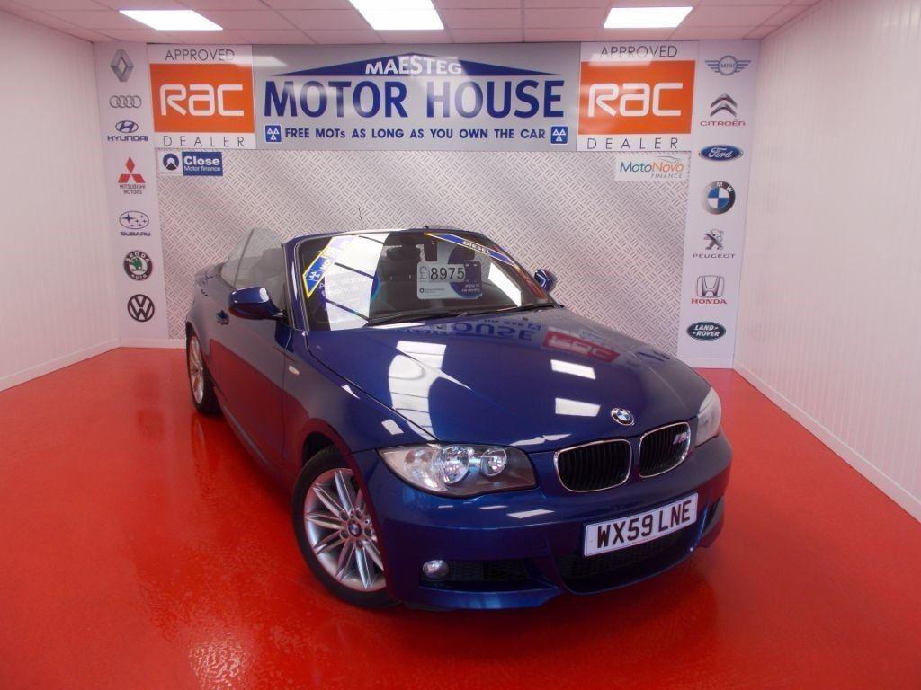BMW 120d (M SPORT) FREE MOT'S AS LONG AS YOU OWN THE CAR!!! (blue) 2009