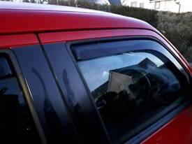 Nissan juke winda deflectors