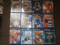 32 SONY PS2 GAMES INCLUDING SPYRO THE DRAGON, CRASH BANDICOOT