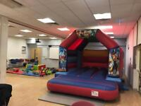 Bouncy Castles,soft play and chocolate fountain For hire £60