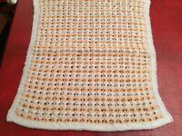 Dolls Pram Blanket.Cot Hand Knitted NEW
