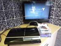 PS3 Console + 6 Games