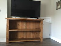 Solid Wood Bookcase / Tv Stand