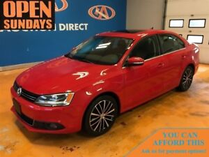 2014 Volkswagen Jetta LEATHER! SUNROOF!!! A/C! FINANCE NOW!