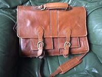 Visconti Leather Satchel
