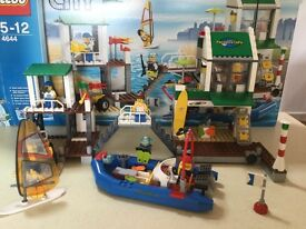 Lego City 4644 Marina 100% Complete Boxed with instructions