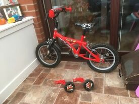 Boys pirate bike