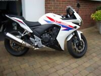 HONDA CBR 500R IMMACULATE AND ULTRA LOW MILES