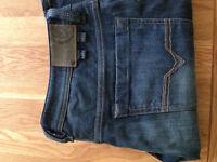 "Diesel Men's 'Shazor' Bootcut Jeans (33""W x 30""L) (never worn)"