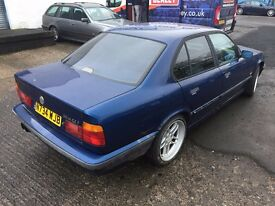 [Simmons BMW Livingston] BMW 5 series E34 540iA Avus Blue Breaking for Parts - engine sold AUTO