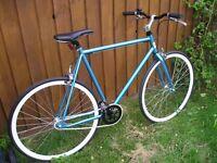 "23"" framed Fixie (95% new) 700c twinwall wheels flip/flop hub"