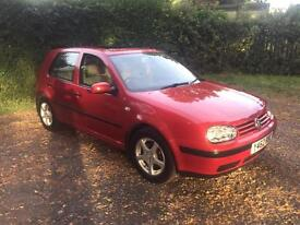 2001 vw golf tdi