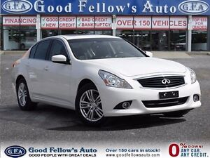 2013 Infiniti G37X  AWD, LEATHER, SUNROOF, NAVIGATION, CAMERA