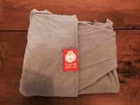 Hana grey organic baby wrap/sling - excellent condition!