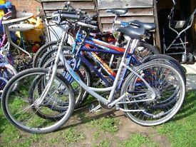 Great price used Carr-era, Marin, Giant, Triban, cannon, electric bike fold-able bike