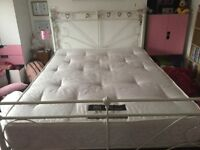 ***NEW REDUCED PRICE*** LUXURY DOUBLE BED-FRAME & LUXURY MATTRESS ***