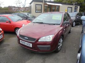 FORD FOCUS 1598cc LX 5 DOOR HATCH 2005-05, 104K FROM NEW,