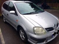 2005 Nissan Almera Tino -- 87K miles and clean MOT