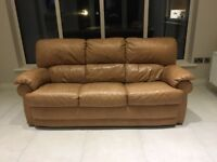 Leather Suite of Furniture For Sale 3-1-1 (Reclining armchairs)