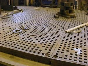 Acorn welding tables used section of 5' x 5' x 5-7 inch thick West Island Greater Montréal image 5