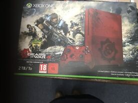 XBox One S 2TB Limited Edition Gears of War 4 Bundle NEW & Unopened