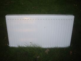 Two central heating radiators