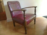 1920's Rexene covered armchair