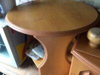 CARAVAN TABLE AND UNIT