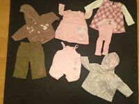 Girls clothes 0 - 12 months, Second Hand, Nearly New
