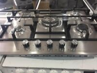 5Burner Gas Hobs stainless steel **NEW** BEKO Warranty Included