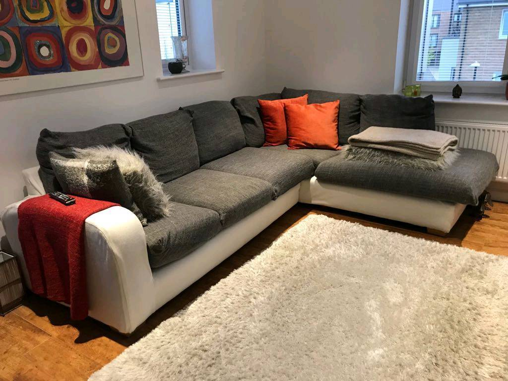finest selection 50fd8 e1b78 Grey Corner Sofa | in Greenhithe, Kent | Gumtree