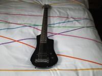 Hofner contemporary series travel guitar