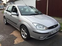 2002 FORD FOCUS 1,6 PETROL ,REMOTE CENTRAL LOCKING