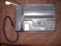BT DF 50 Telephone/Fax machine. Old and not digital but free to collector.