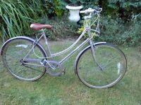 NICE PINK RALEIGH CAPRICE CLEANED AND SERVICED