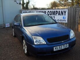 VAUXHALL VECTRA 2002 52 1.8 LTR PETROL 88000 MILES 1 YEAR FRESH MOT WARRANTED CLEAN CAR!!!
