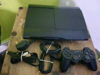 Ps3 console 12gb with one controller and all wires