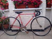 Vintage Emmelle Clipper 10 speed Racer/Road bike