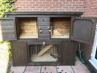 Top quality large rabbit hutch