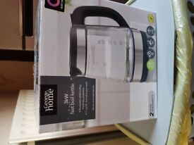 New Kettle Glass 1 year warranty