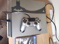 Sony PlayStation 4 Batman: Arkham Knight Limited Edition 500 GB Gun-Metal Grey.