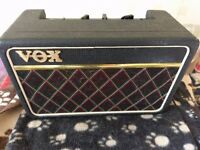 Vox escort battery and mains amp