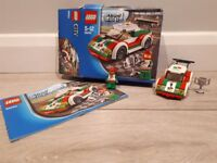 Lego City 60053 Race Car. In good condition. Complete set with box and instructions.