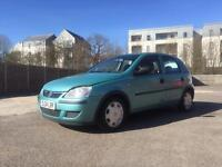 Vauxhall Corsa 1 Litre 5 Door Hatch back with 1 Year MOT