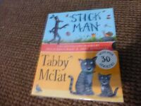brand new stickman and tabby mctat