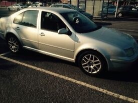 VW Bora Highline, 1.9 TDI, runs and drives, spare or repair due to high mileage, 2005 year