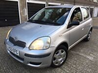 TOYOTA YARIS 1.0 VVTI = 37000 MILEAGE ONLY = £1290 ONLY =